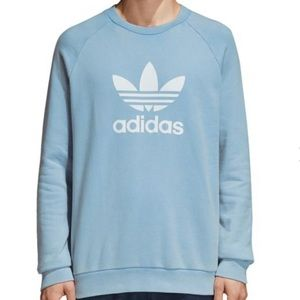 Adidas Blue Oversized Sweatshirt